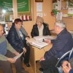 9 lutego b.r.  w biurze Zarządu ROD odbyło się zebranie członków Ogrodowej Komisji Rewizyjnej z udziałem Ksiegowej i Prezesa ogrodu